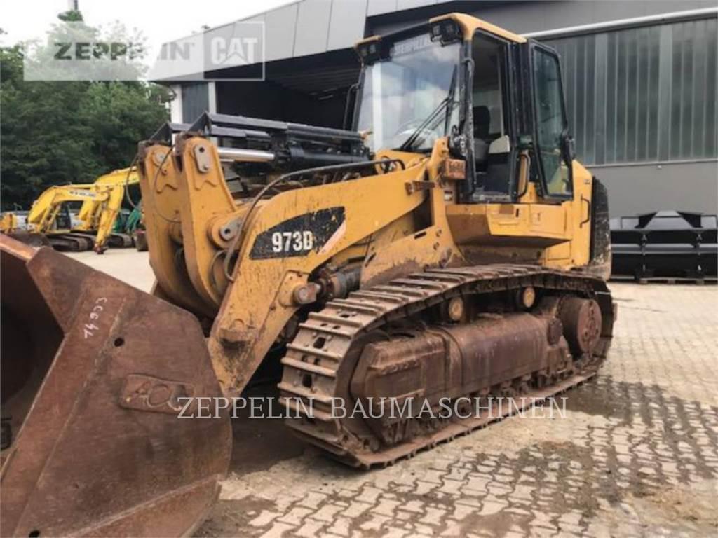 Caterpillar 973D, track loaders, Construction
