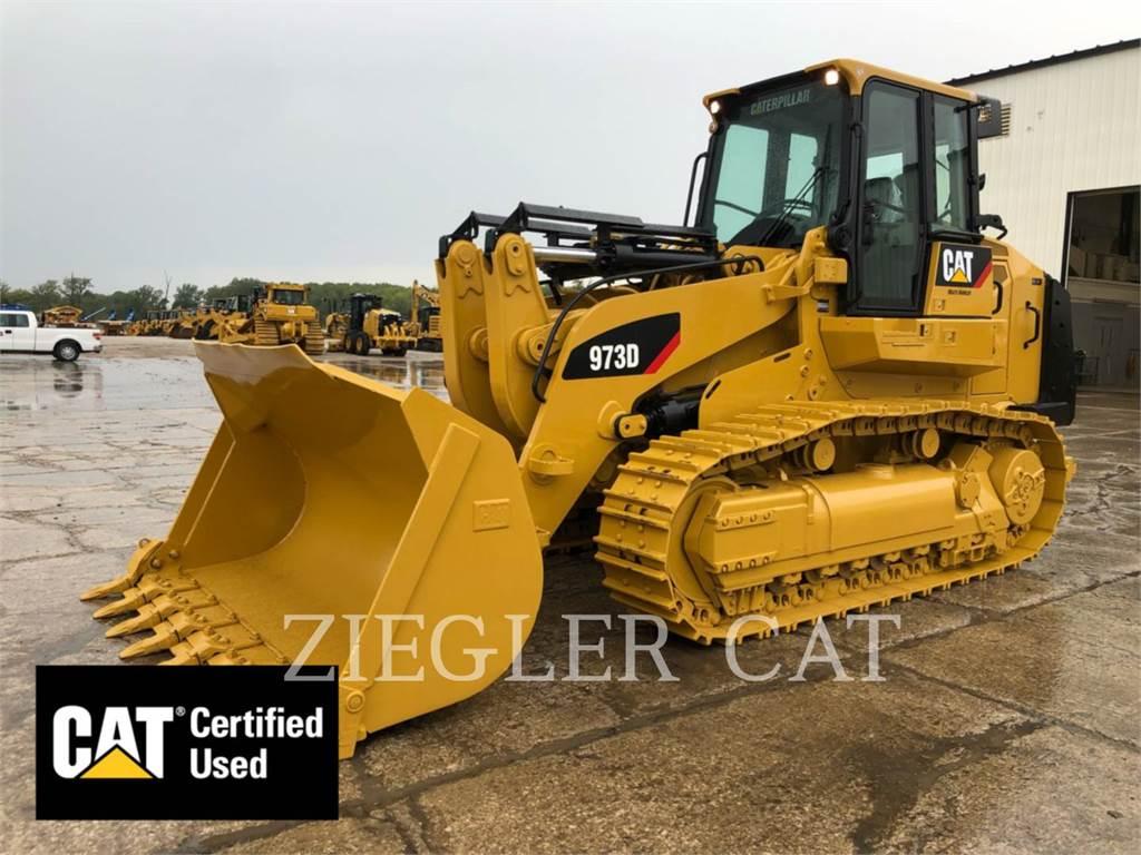 Caterpillar 973D, chargeurs sur chaines, Équipement De Construction