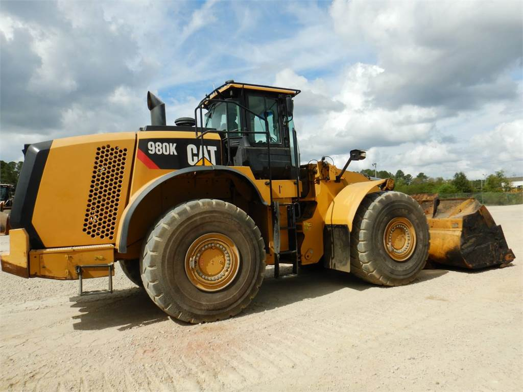 Caterpillar 980 K, Wheel Loaders, Construction