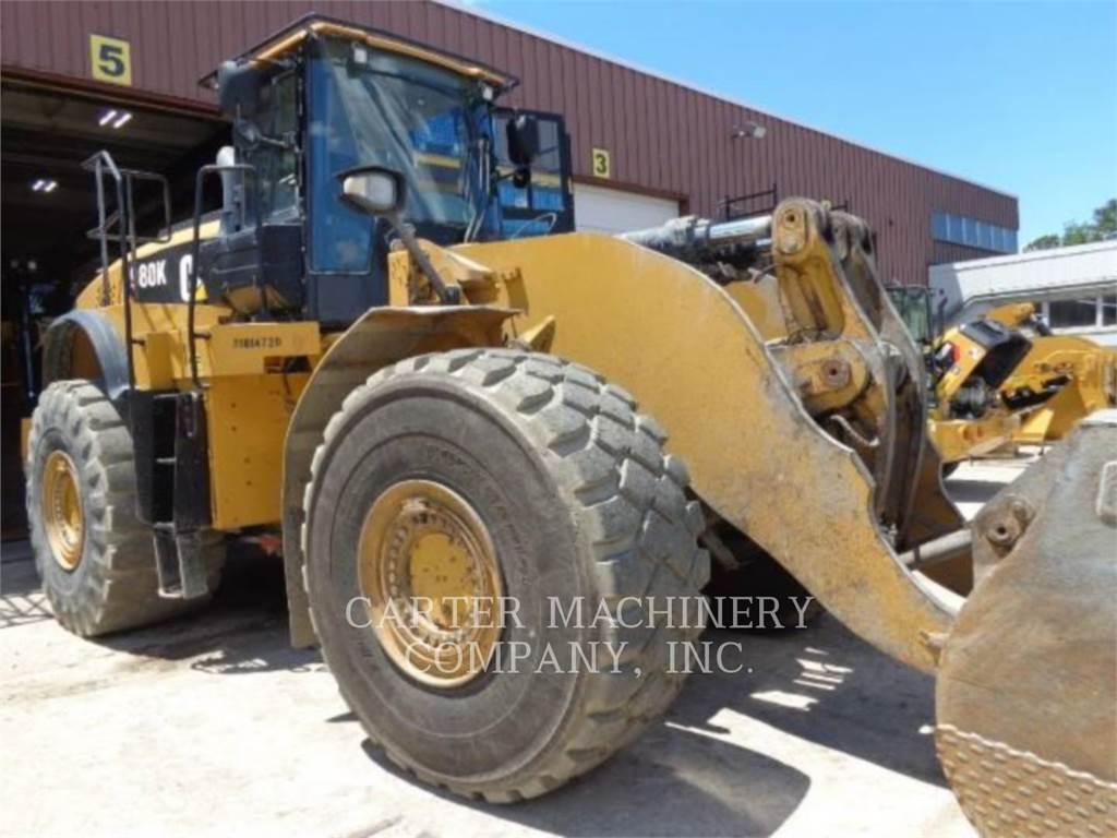 Caterpillar 980 K, Wheel Loaders, Construction