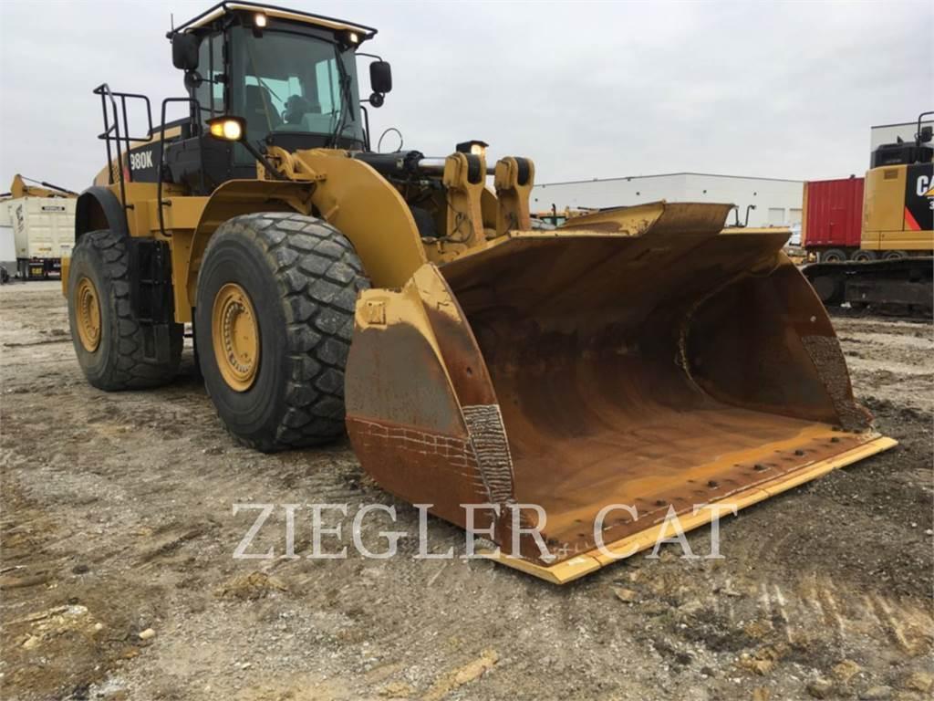 Caterpillar 980 K, Chargeuse sur pneus, Équipement De Construction