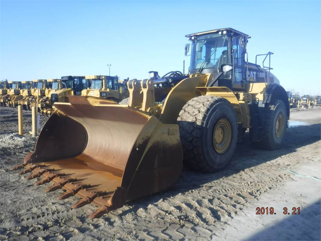 Caterpillar 980 M, Wheel Loaders, Construction