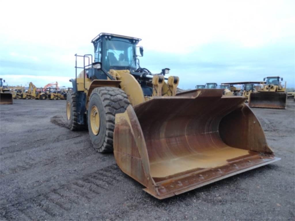 Caterpillar 980 M, Incarcator pe pneuri, Constructii