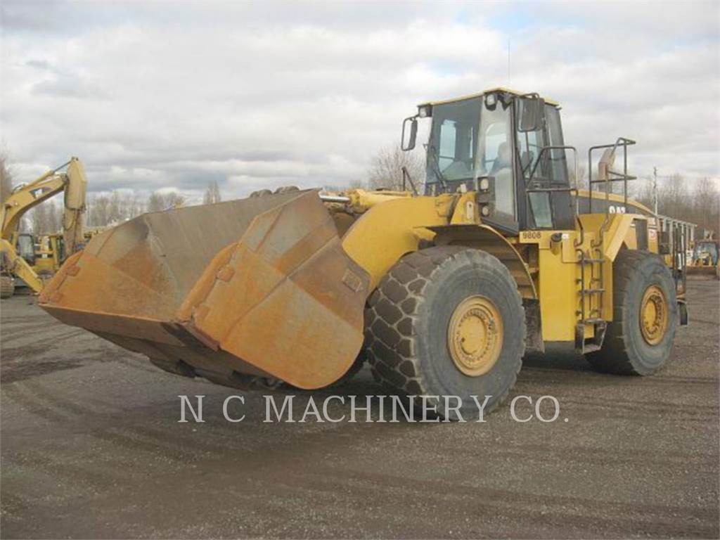 Caterpillar 980G, Wheel Loaders, Construction