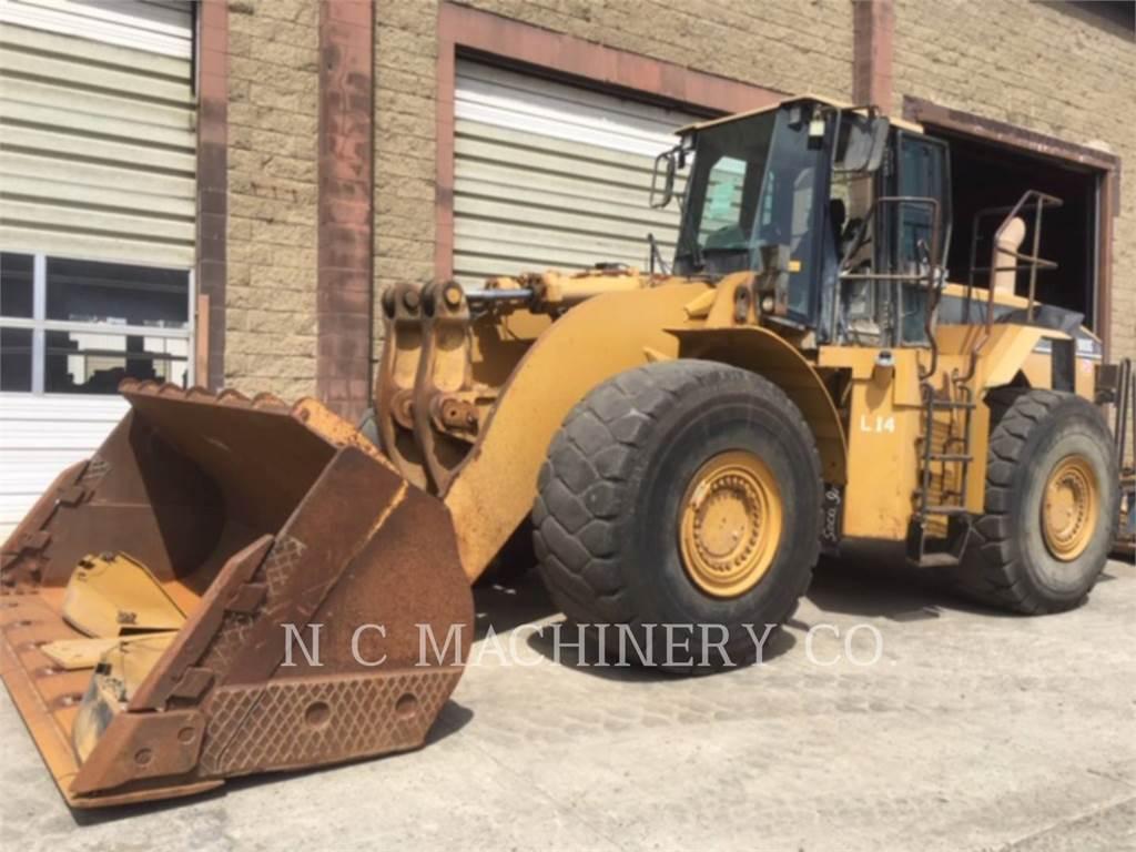 Caterpillar 980G, Chargeuse sur pneus, Équipement De Construction