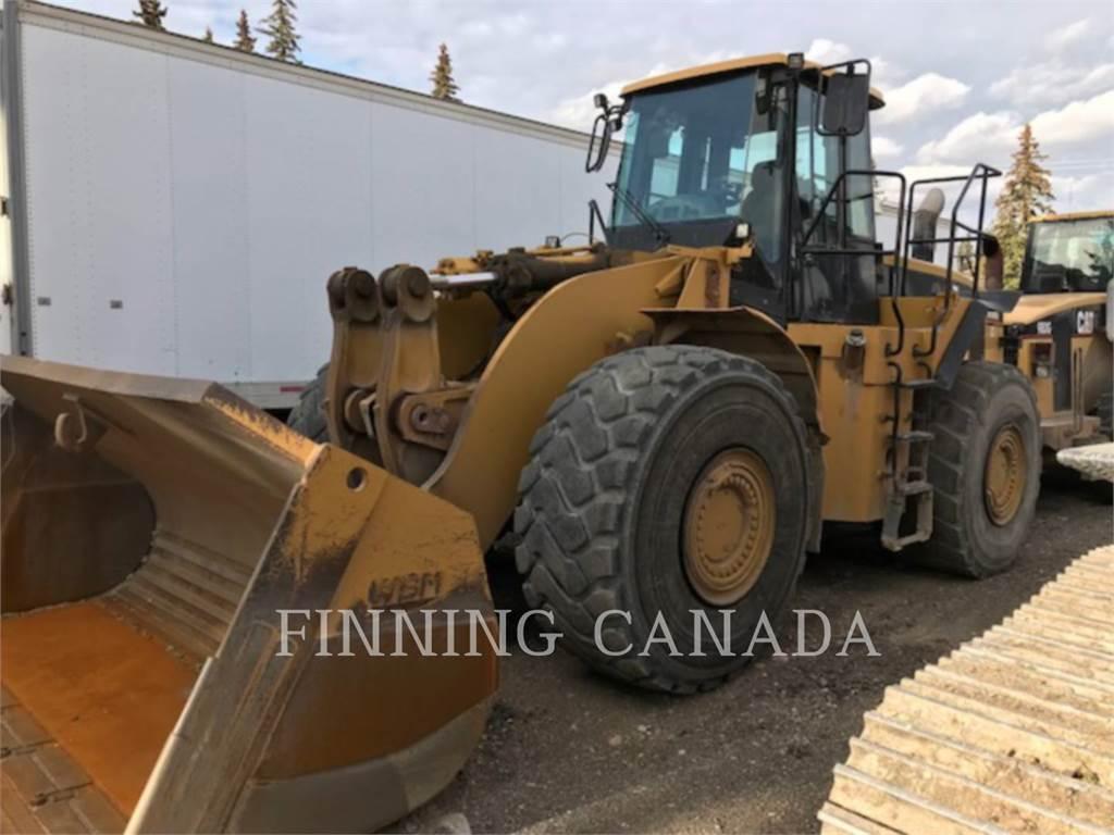 Caterpillar 980GII, Pás carregadoras de rodas, Equipamentos Construção