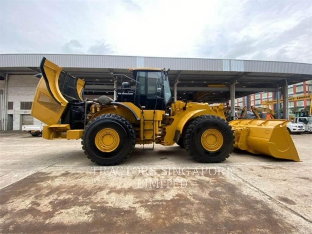 Caterpillar 980H, Wheel Loaders, Construction