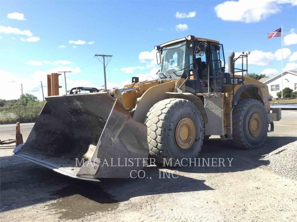 Caterpillar 980H, Incarcator pe pneuri, Constructii