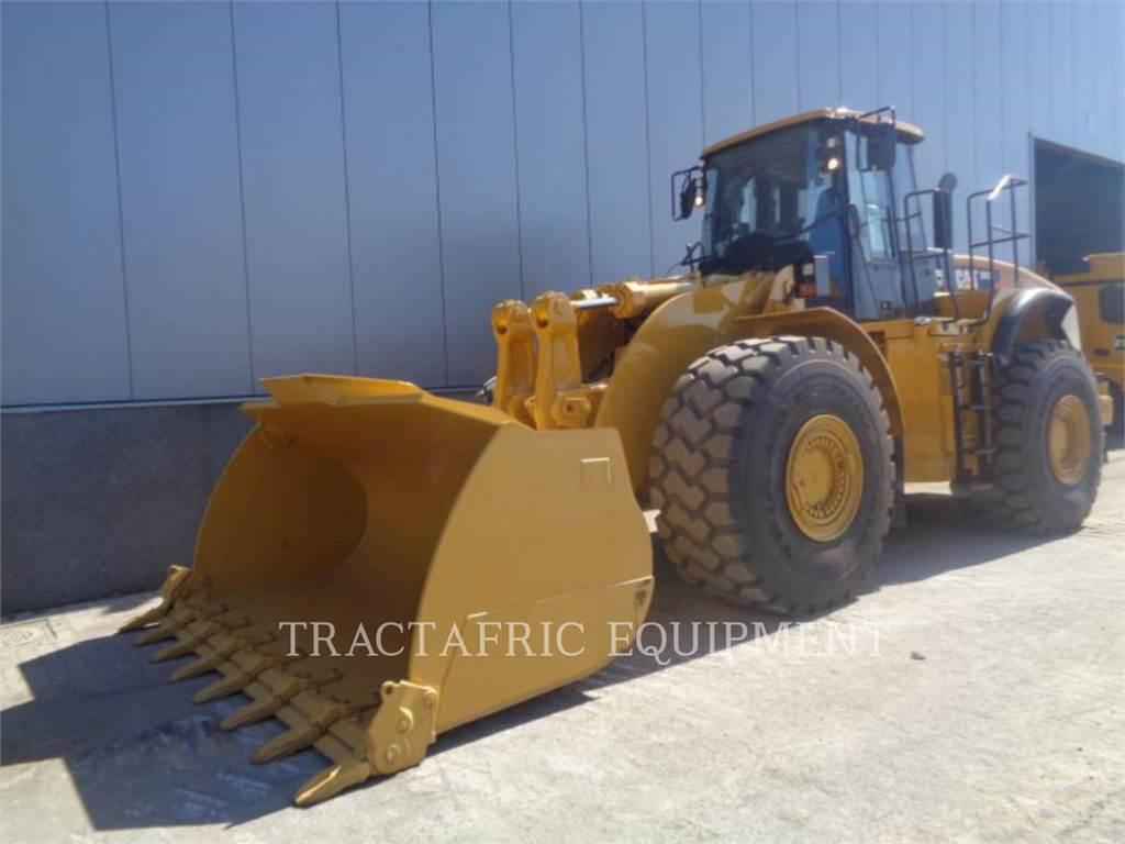 Caterpillar 980H、ホイールローダー、建設