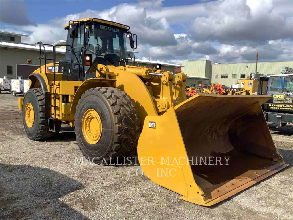 Caterpillar 980H, Wielladers, Bouw