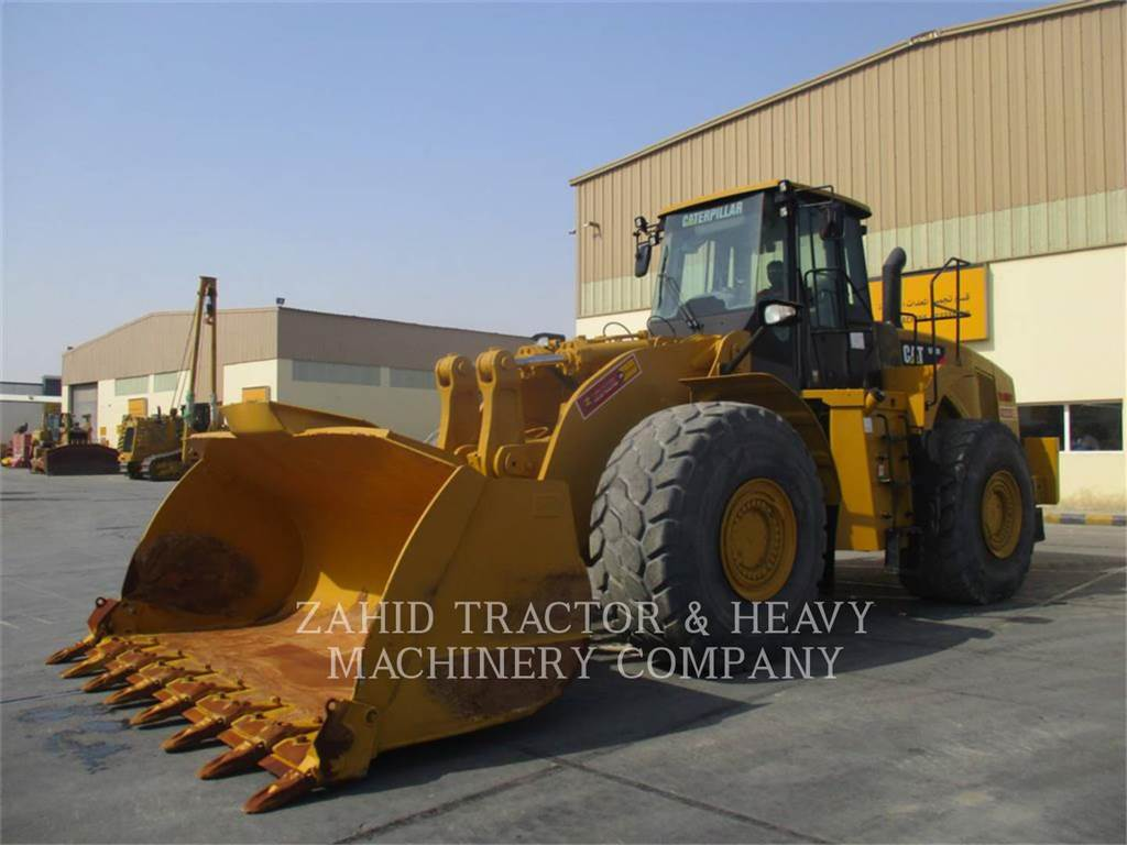 Caterpillar 980H, Pás carregadoras de rodas, Equipamentos Construção