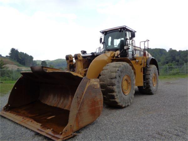Caterpillar 980K, Pás carregadoras de rodas, Equipamentos Construção