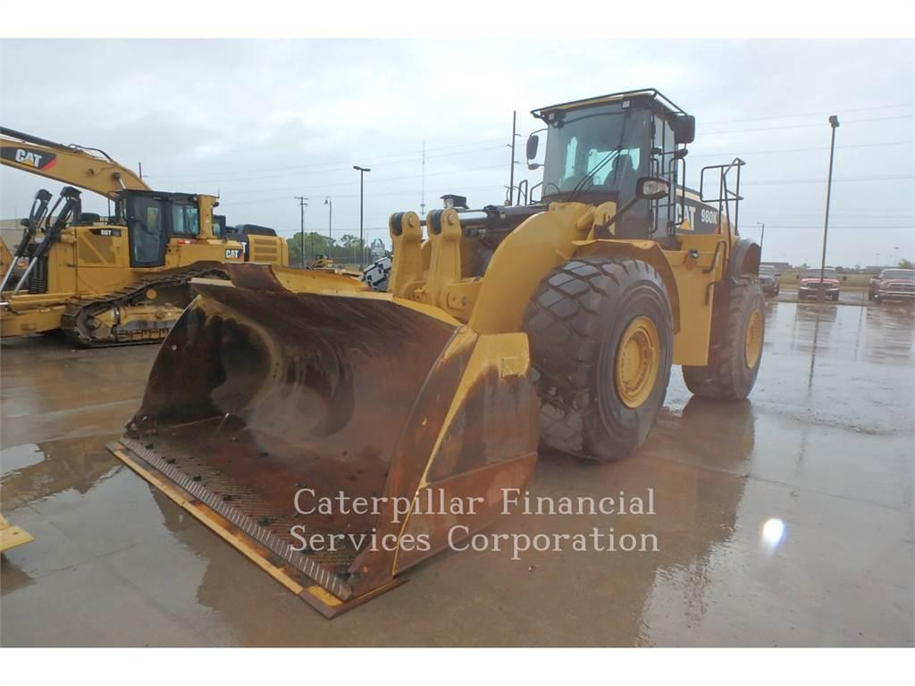 Caterpillar 980K, Ładowarki kołowe, Sprzęt budowlany
