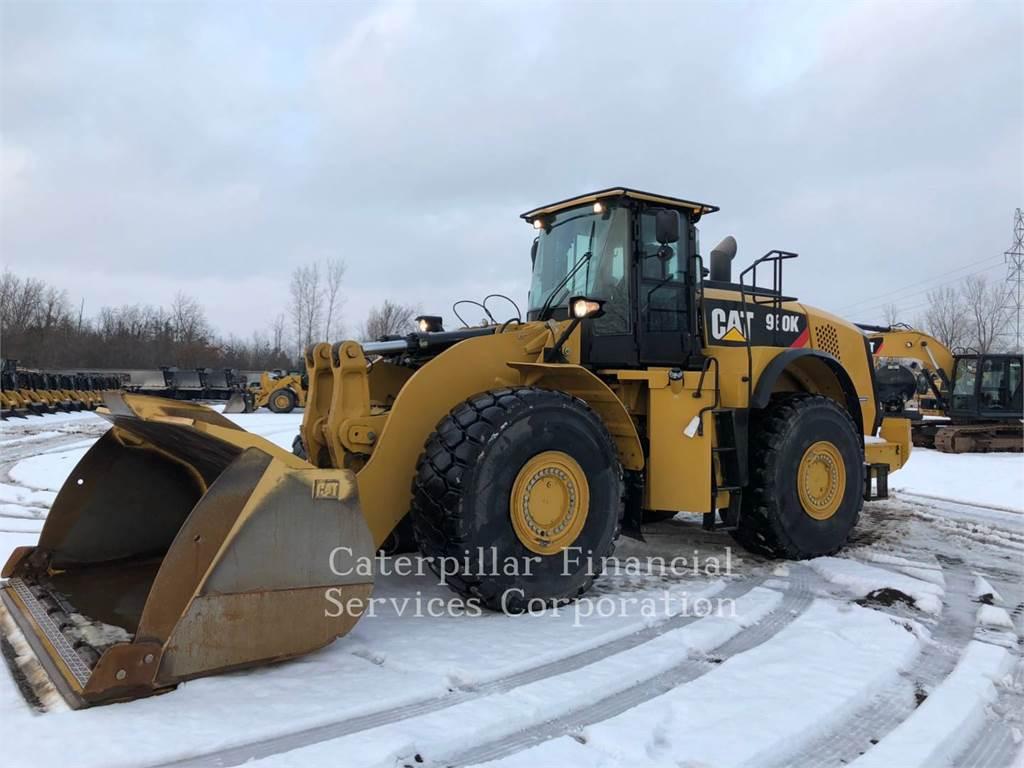 Caterpillar 980K、ホイールローダー、建設