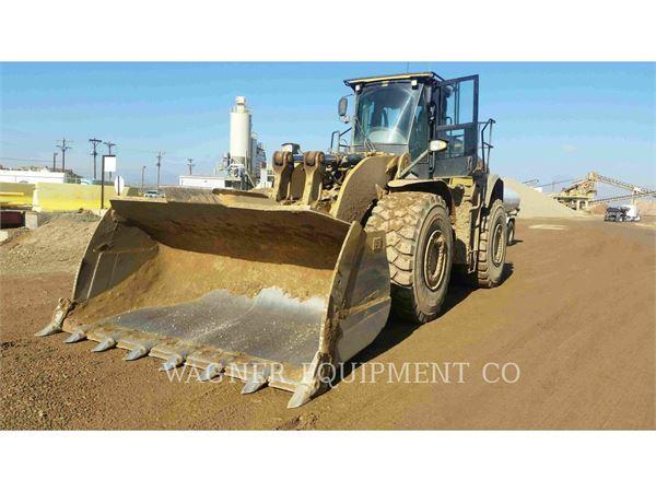 Caterpillar 980K, Chargeuse sur pneus, Équipement De Construction
