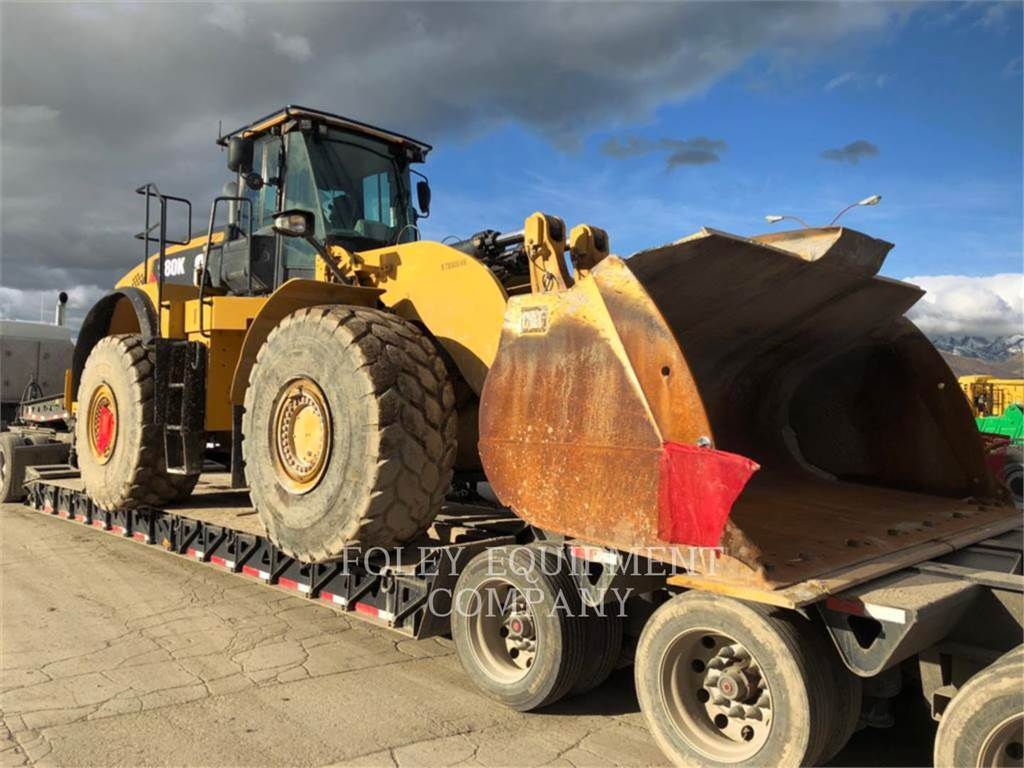 Caterpillar 980K, Wheel Loaders, Construction