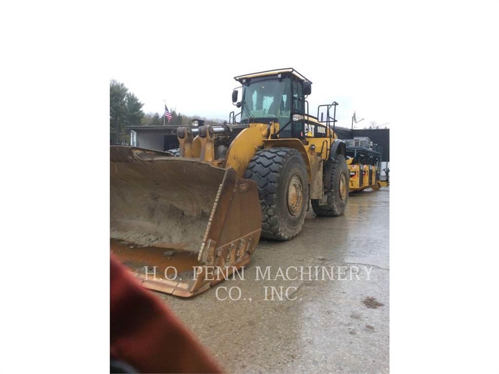 Caterpillar 980K、轮式装载机、建筑设备