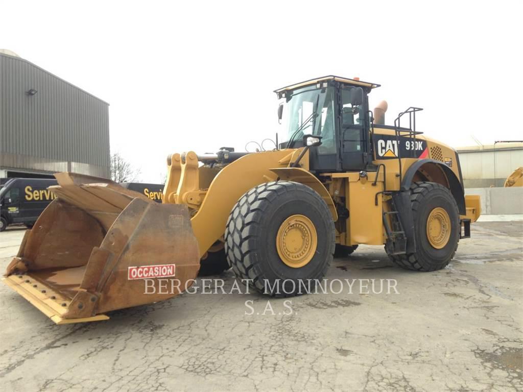 Caterpillar 980K, Cargadoras sobre ruedas, Construcción