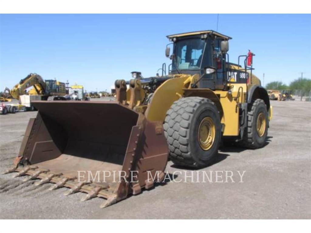 Caterpillar 980K, Incarcator pe pneuri, Constructii