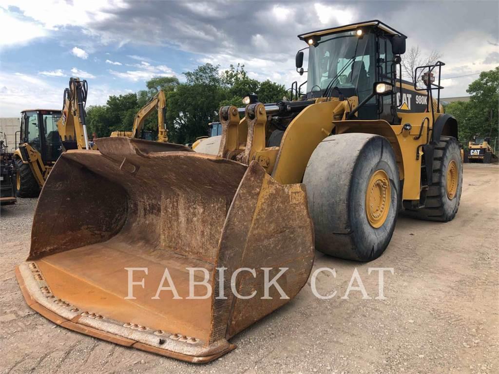 Caterpillar 980K4 AGG, Wheel Loaders, Construction