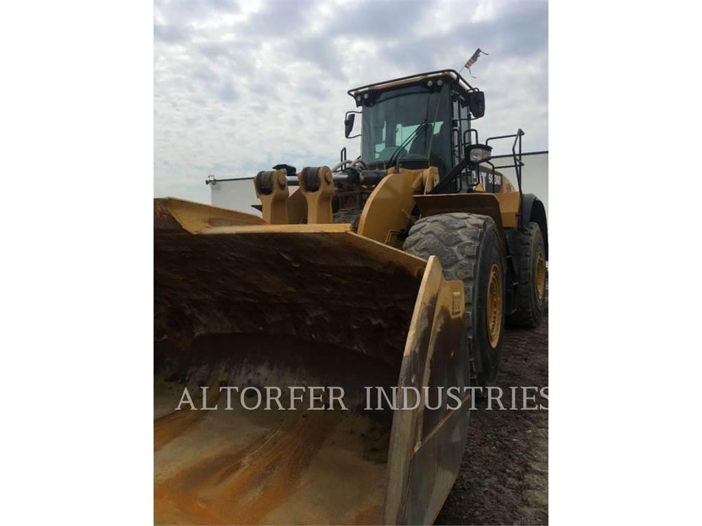 Caterpillar 980M、轮式装载机、建筑设备