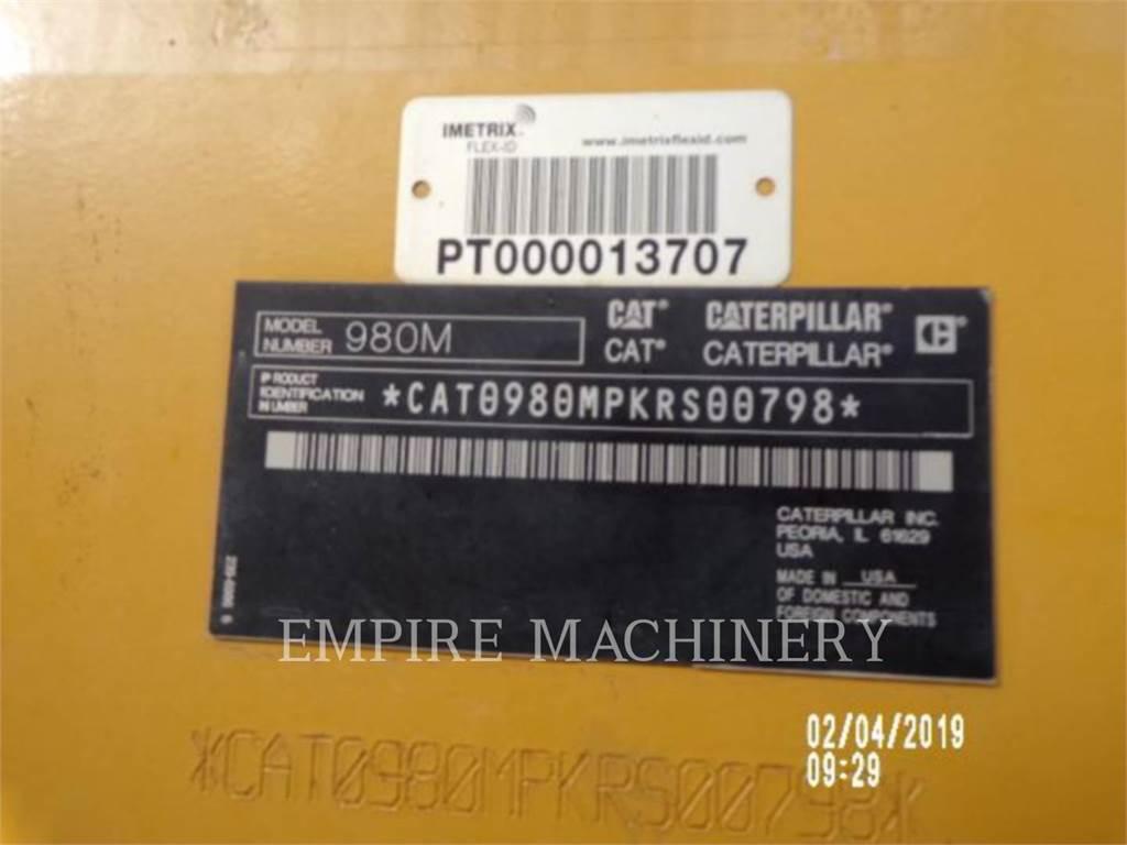 Caterpillar 980M, Фронтальные погрузчики, Строительное