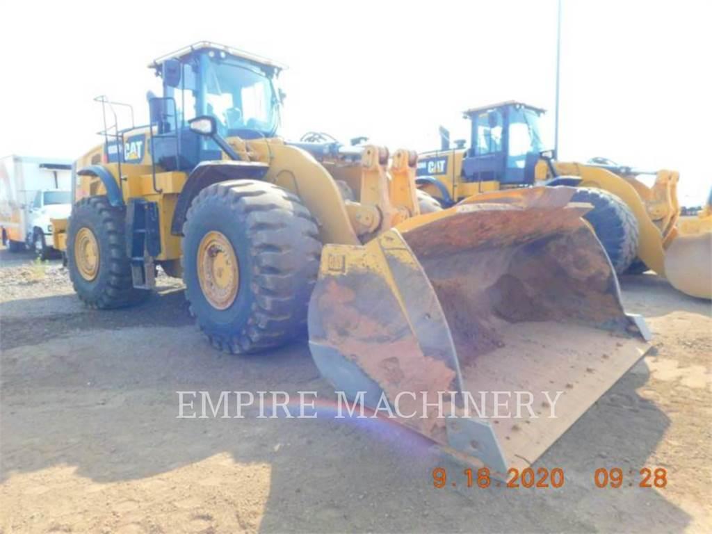 Caterpillar 980M, Ładowarki kołowe, Sprzęt budowlany