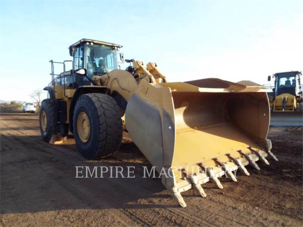 Caterpillar 980M AOC, Pás carregadoras de rodas, Equipamentos Construção