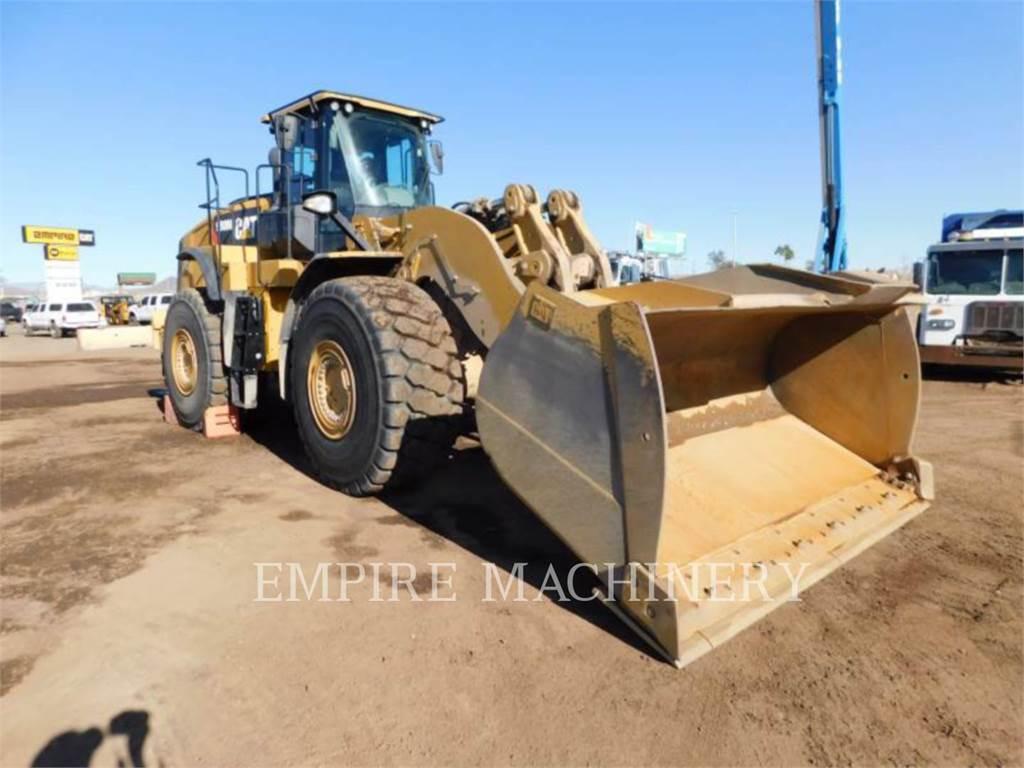 Caterpillar 980M AOC, Incarcator pe pneuri, Constructii