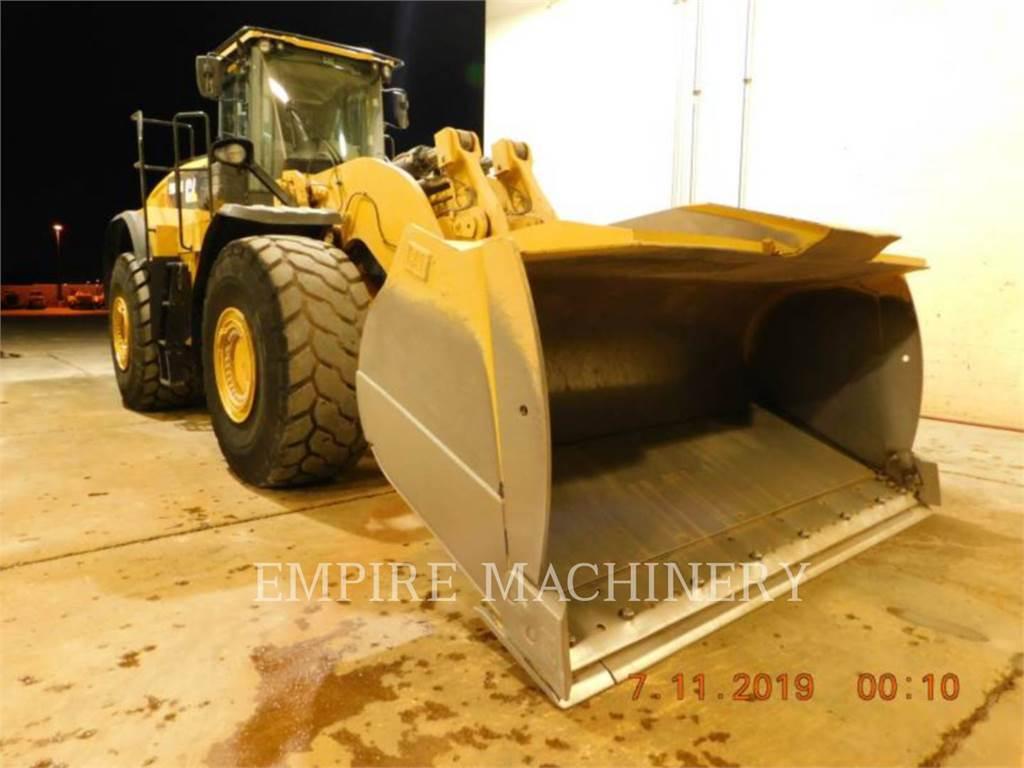 Caterpillar 980M AOC, Cargadoras sobre ruedas, Construcción