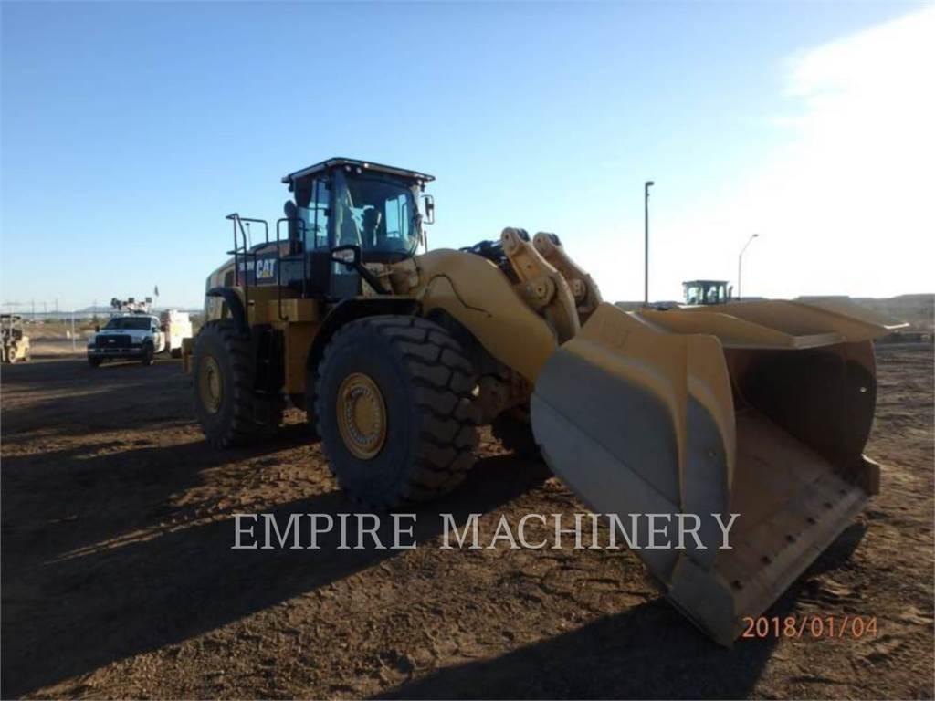 Caterpillar 980M, Cargadoras sobre ruedas, Construcción