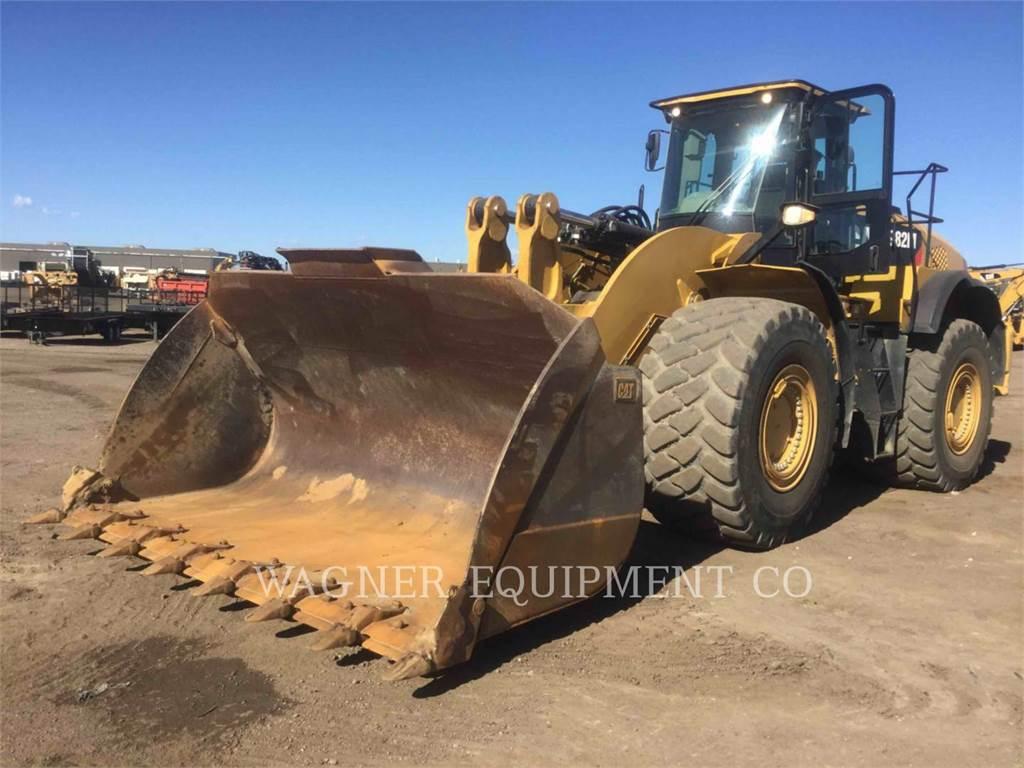 Caterpillar 982M, Chargeuse sur pneus, Équipement De Construction