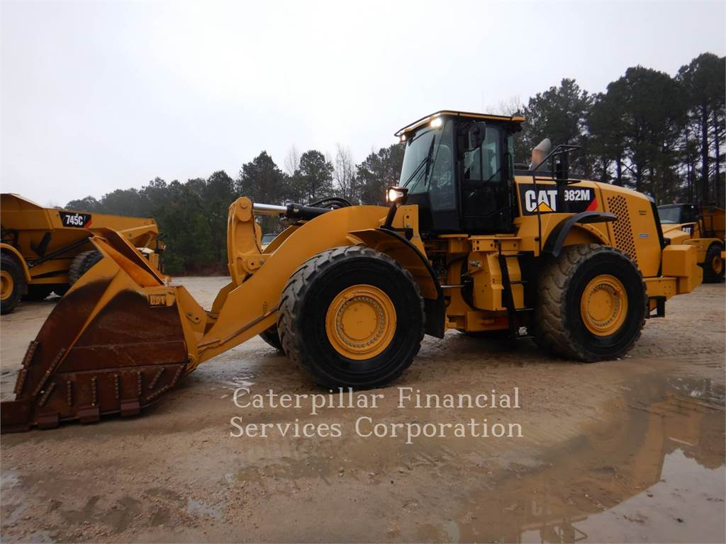 Caterpillar 982M, Wheel Loaders, Construction