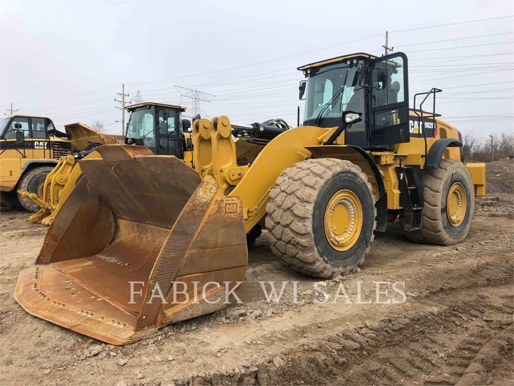Caterpillar 982M, Pás carregadoras de rodas, Equipamentos Construção