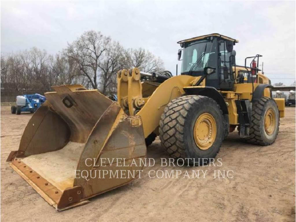 Caterpillar 982M, Cargadoras sobre ruedas, Construcción