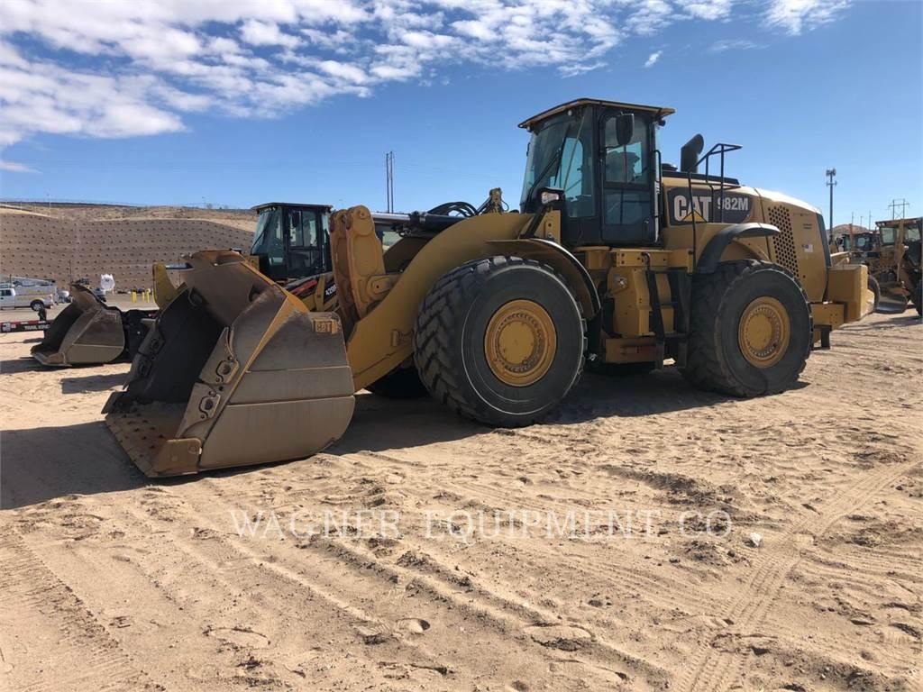 Caterpillar 982M, Wheel Loaders, Construction