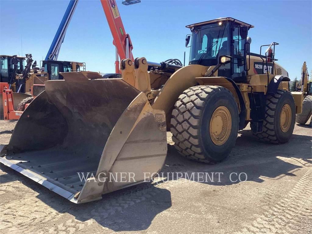 Caterpillar 982M AG, Pás carregadoras de rodas, Equipamentos Construção
