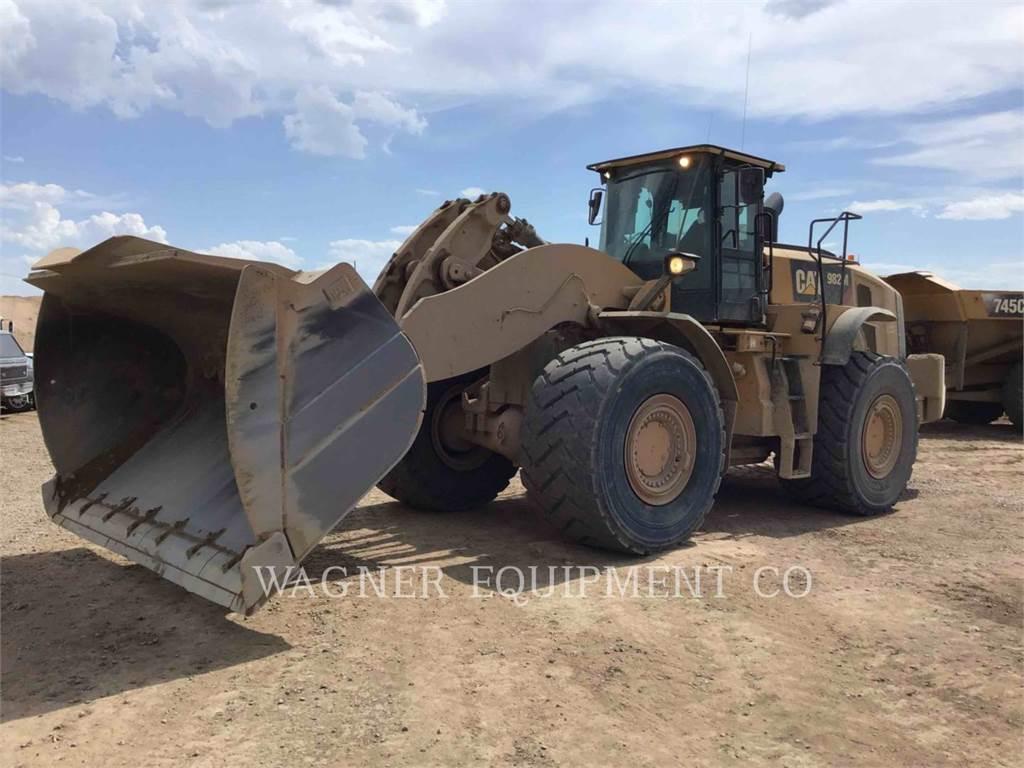 Caterpillar 982M AG, Wheel Loaders, Construction