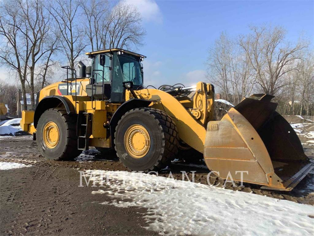 Caterpillar 982M P, Wheel Loaders, Construction