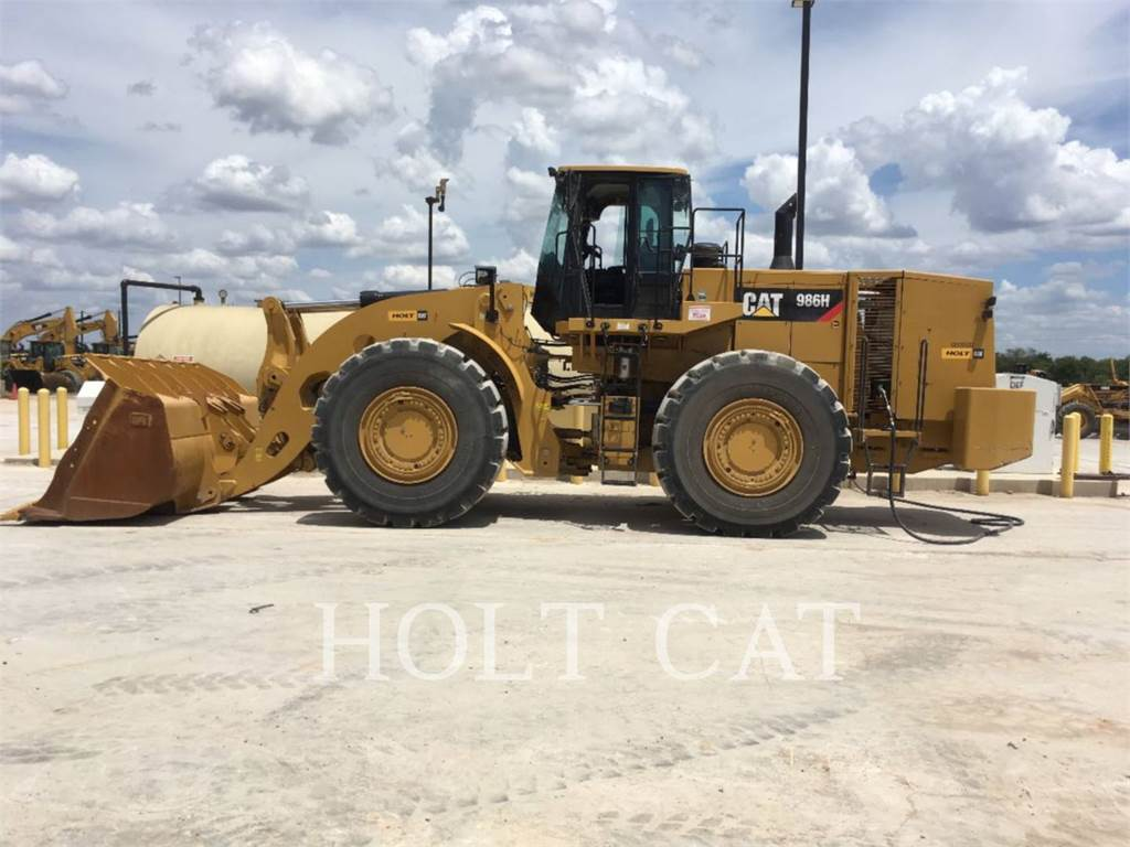 Caterpillar 986H, Wheel Loaders, Construction