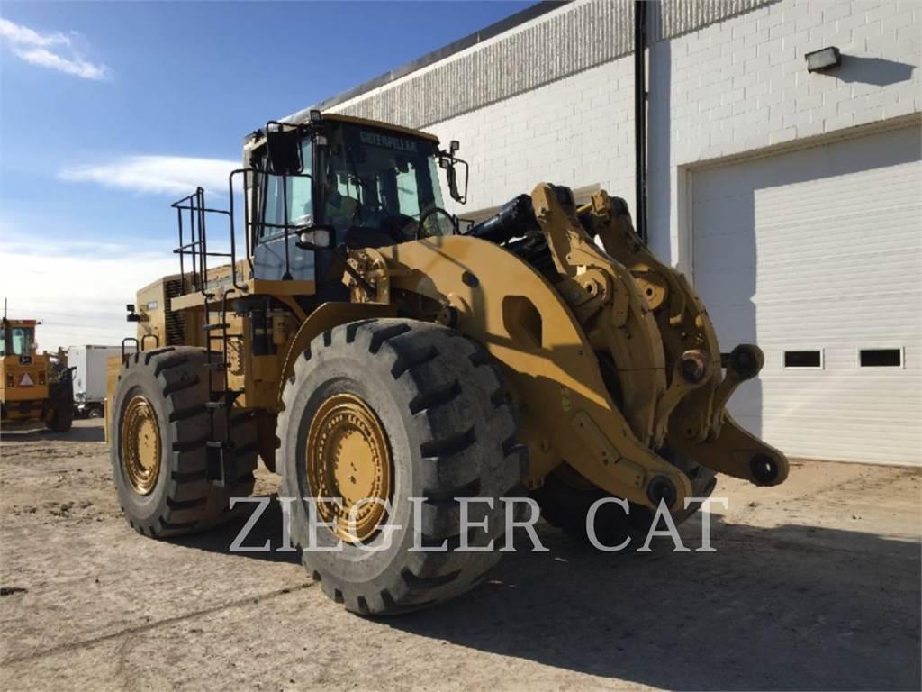 Caterpillar 986H, Wheel Loaders, Construction