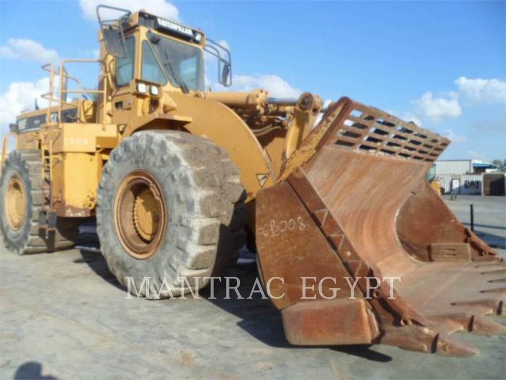 Caterpillar 988F, Wheel Loaders, Construction