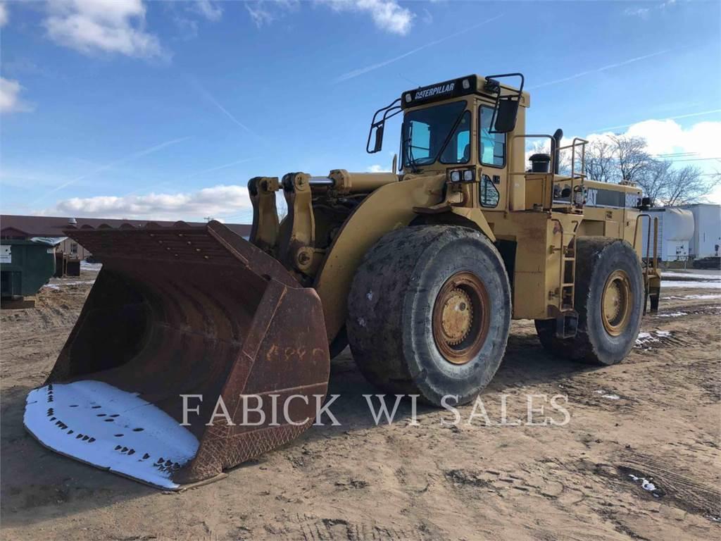Caterpillar 988F, Incarcator pe pneuri, Constructii