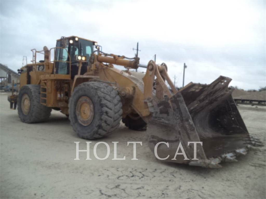Caterpillar 988G, Wheel Loaders, Construction