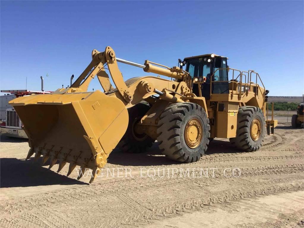Caterpillar 988H, Cargadoras sobre ruedas, Construcción