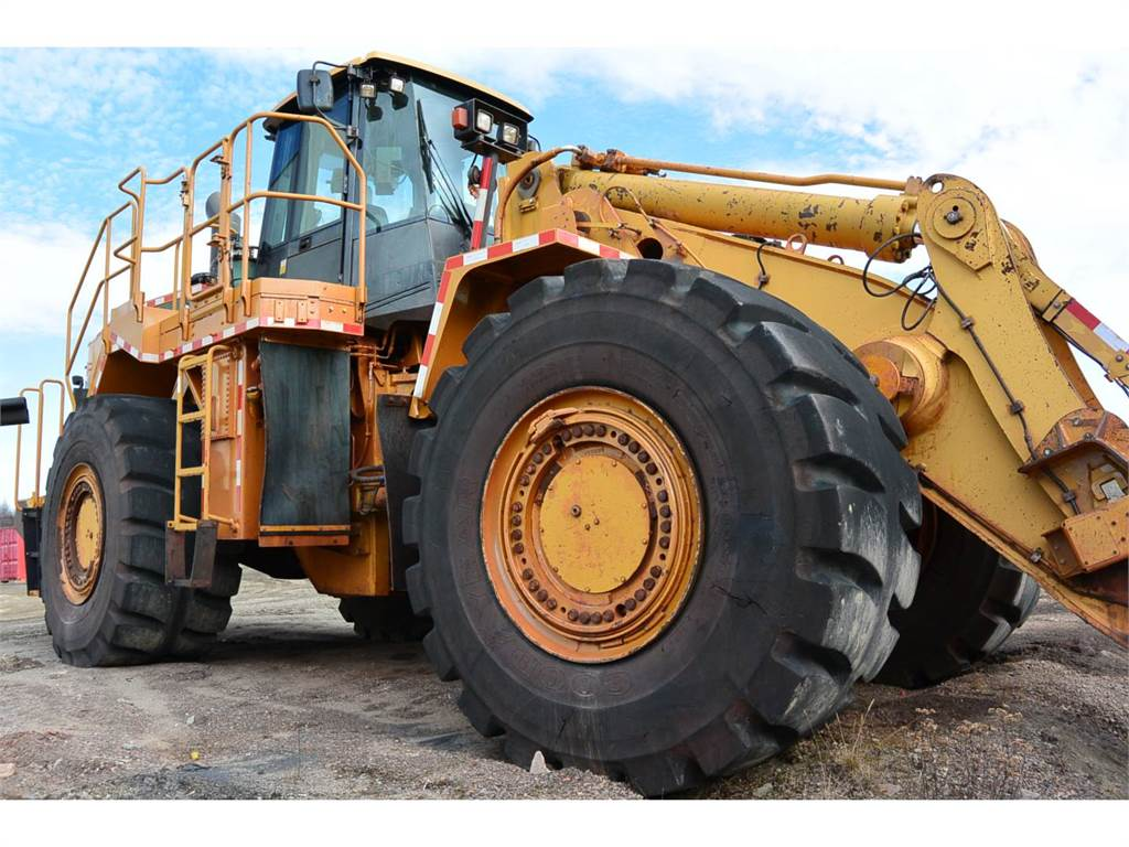 Caterpillar 988H、ホイールローダー、建設