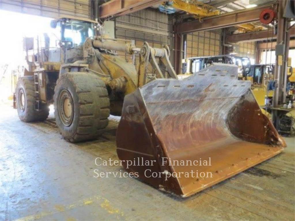 Caterpillar 988H, Ładowarki kołowe, Sprzęt budowlany