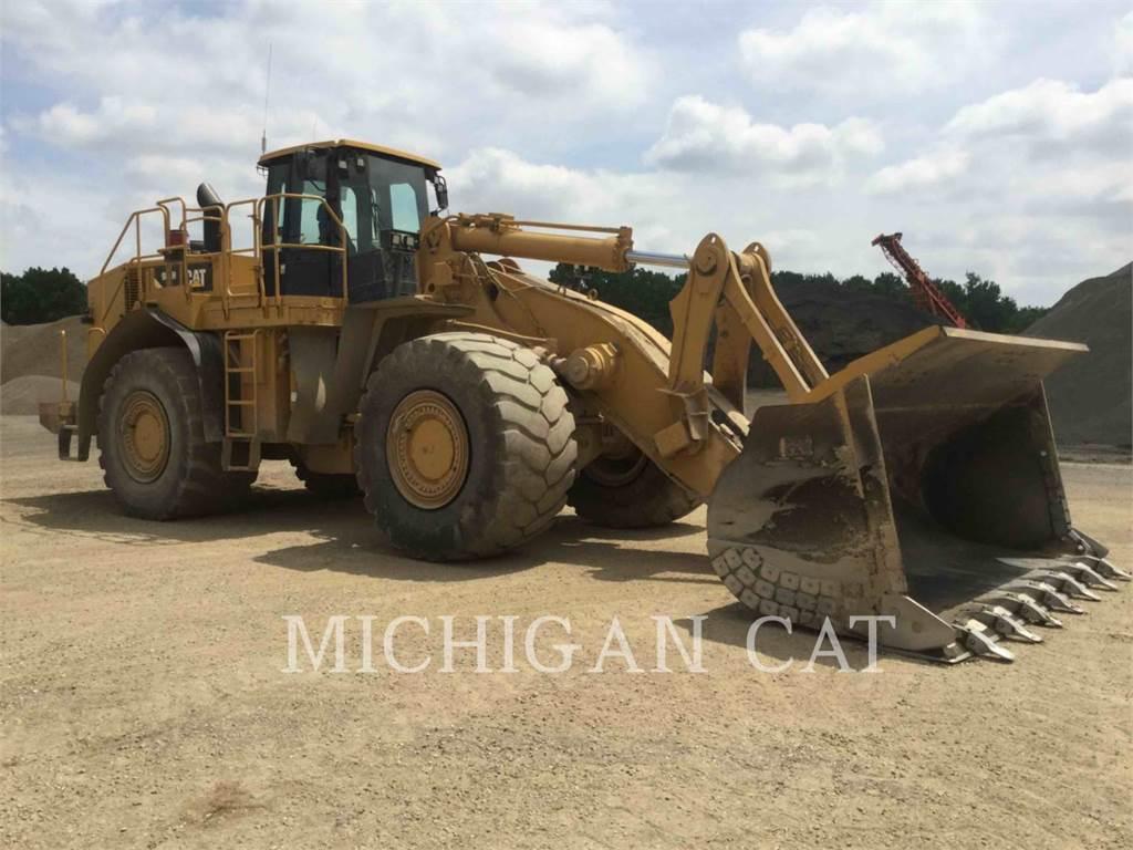 Caterpillar 988H, Pás carregadoras de rodas, Equipamentos Construção