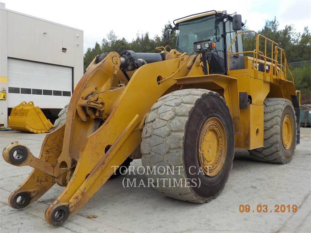 Caterpillar 988K, Chargeuse sur pneus, Équipement De Construction