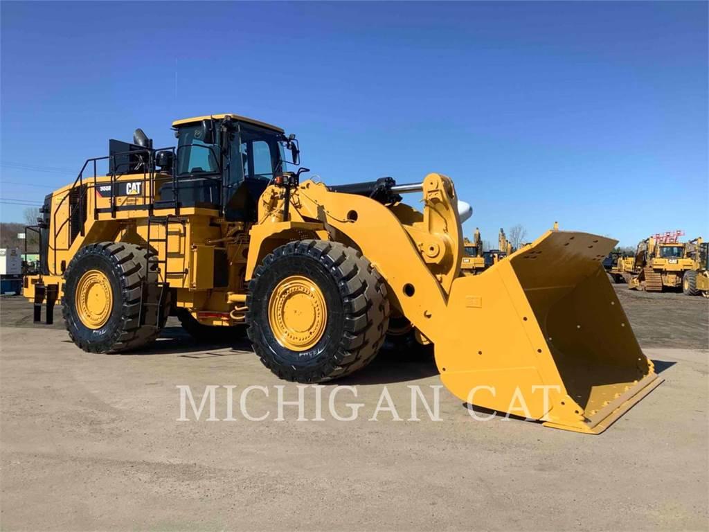 Caterpillar 988K、轮式装载机、建筑设备